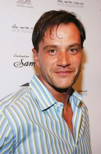 Tim DeKay at the Friendly House benefit opening of Sama Eyewear.