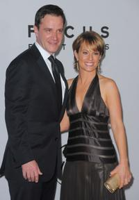 Tim DeKay and Guest at the after party of NBC, Universal Pictures and Focus Features Golden Globes.