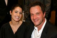 Michelle Borth and Tim DeKay at the 8th Annual AFI Awards cocktail reception.
