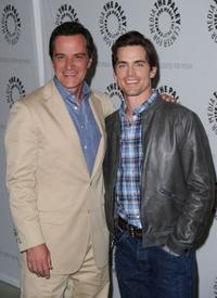 Tim DeKay and Matthew Bomer at the presentation of