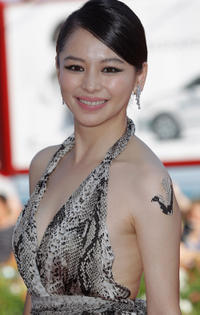Vivian Hsu at the premiere of