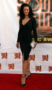Amy Hunter at the 21st Annual Soul Train Music Awards.