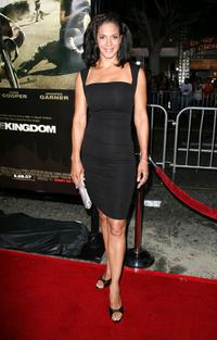 Amy Hunter at the premiere of