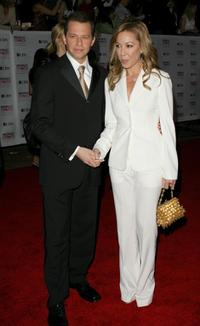 Jon Cryer and his wife Lisa Joyner at the 33rd Annual People's Choice Awards.