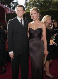 Jon Cryer and his wife Lisa Joyner at the 59th Annual Primetime Emmy Awards.