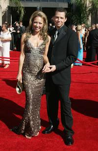 Lisa Joyner and Jon Cryer the 58th Annual Primetime Emmy Awards.