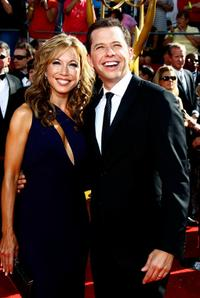 Lisa Joyner and Jon Cryer at the 60th Primetime Emmy Awards.