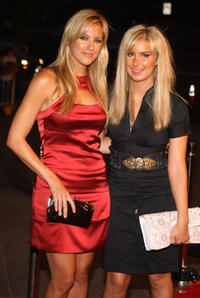 Candace Kaye Kroslak and Kate Osborne at the California premiere of