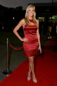 Actress Candace Kroslak at the L.A. premiere of