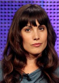 Carly Pope at the NBC Universal portion of the Summer Television Critics Association press tour.