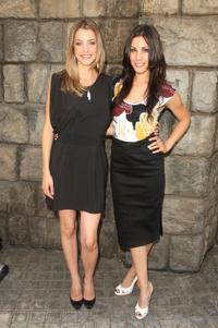 Julie Gonzalo and Carly Pope at the