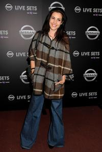 Carly Pope at the one year anniversary celebration of