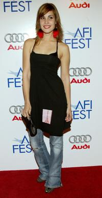 Carly Pope at the screening of