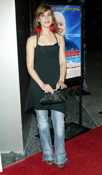 Carly Pope at the screening