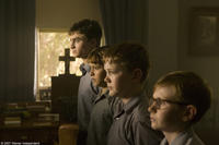 Daniel Radcliffe, Christian Byers, James Fraser and Lee Cormie in