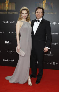 Thekla Reuten and Michael 'Bully' Herbig at the Lola - German Film Award 2012 in Berlin.