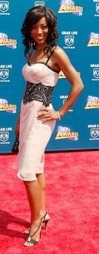 Shaun Robinson at the 2008 BET Awards.