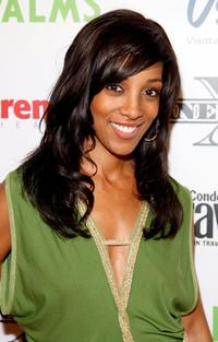 Shaun Robinson at the 2008 CineVegas film festival.