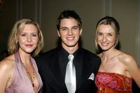 Kristen Shaw, Matt Lanter and Ever Carradine at the after party of the inaugural ball and premiere of
