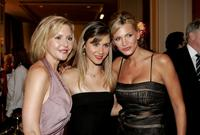Kristen Shaw, Caitlin Wachs and Natasha Henstridge at the inaugural ball and premiere of