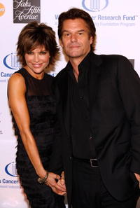 Harry Hamlin and Lisa Rinna at the Saks Fifth Avenue's