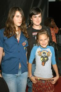 Scout Willis, Rumer Willis and Tallulah Belle Willis at the premiere of