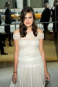 Tallulah Belle Willis at the 2009 CFDA Fashion Awards.