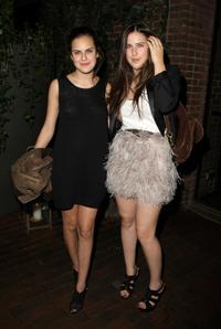 Tallulah Belle Willis and Scout Willis at the after party of the screening of