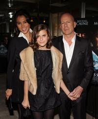 Emma Hemming, Tallulah Belle Willis and Bruce Willis at the after party of the screening of