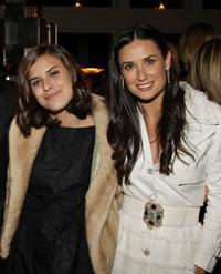 Tallulah Belle Willis and Demi Moore at the after party of the screening of