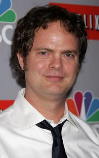 Rainn Wilson at the NBC All-Star Event.