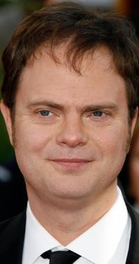 Rainn Wilson at the 64th Annual Golden Globe Awards.