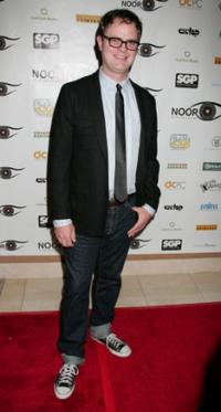 Rainn Wilson at the 2nd annual Noor Film Festival opening night gala.