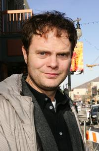 Rainn Wilson at the 2007 Sundance Film Festival.