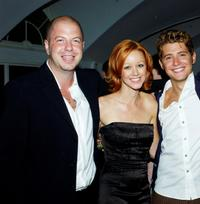 Producer Beau Bauman, Lindy Booth and Julian Morris at the after party of the premiere of
