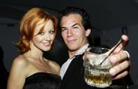 Lindy Booth and Jesse Janzen at the after party of the premiere of