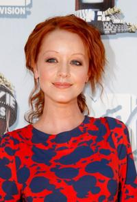 Lindy Booth at the 17th annual MTV Movie Awards.