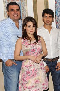 Boman Irani, Minissha Lamba and Sammir Dattani at the 6th Annual Dubai International Film Festival.