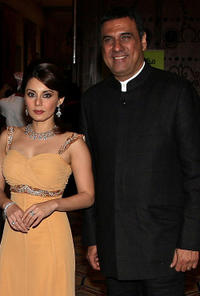 Minissha Lamba and Boman Irani at the premiere of