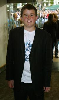 Harry Melling at the UK premiere of