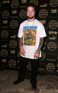 Bam Margera at the Gumball 3000 10th Anniversary Party.