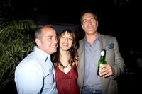 Michael Corrente, Julie Birchirin and Richard Burgi at the 2006 Newport International Film Festival.