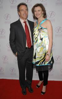 Richard Burgi and Brenda Strong at the American Fertility Association's Annual Illuminations Gala.