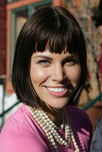 Brooke Burns at the 2005 Sundance Film Festival.