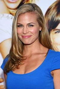 Brooke Burns at the premiere of
