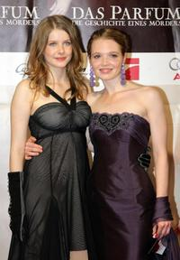 Rachel Hurd-Wood and Karoline Herfurth at the world premiere of