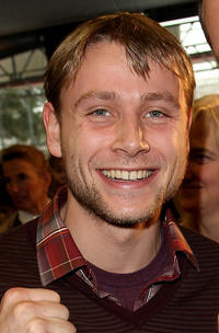 Max Riemelt at the Hesse Government Berlinale Reception in Germany.