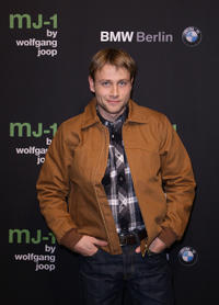Max Riemelt at the MJ-1 By Wolfgang Joop in Berlin.
