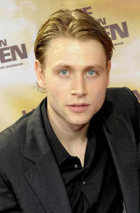 Max Riemelt at the Germany premiere of