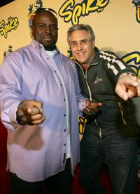 Funkmaster Flex and Albie Hecht at the 2004 Spike TV Video Game Awards.